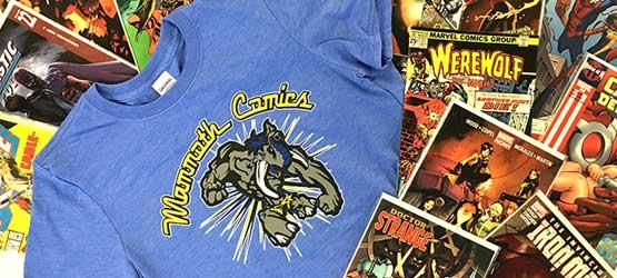 Mammoth Comics T-Shirts